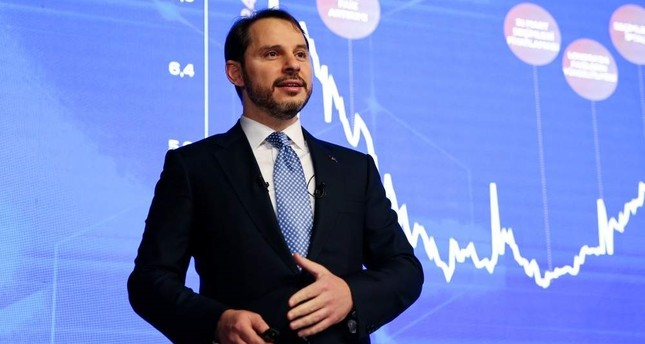 Treasury and Finance Minister Berat Albayrak stressed that single-digit yields in two-year benchmark bonds is a reflection of successful implementation of risk-averting policies, in a statement on Twitter. AA Photo
