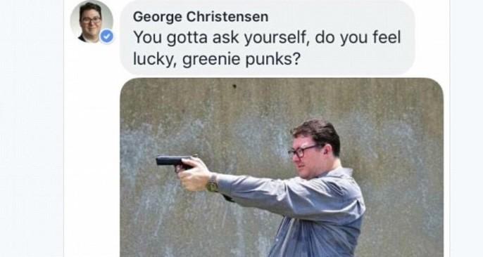 George Christensen's Facebook page