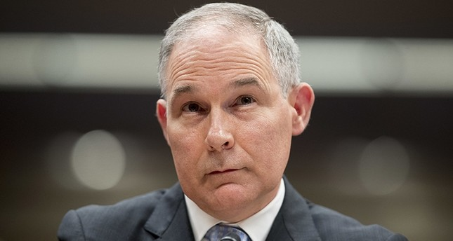 In this May 16, 2018, file photo, Environmental Protection Agency Administrator Scott Pruitt appears before a Senate Appropriations subcommittee on the Interior, Environment, and Related Agencies on budget on Capitol Hill in Washington. (AP Photo)