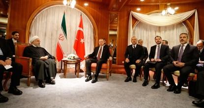Erdoğan meets Putin, Rouhani ahead of Syria summit