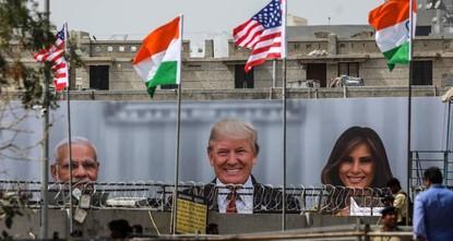 India scrambles to give Trump a mega-rally