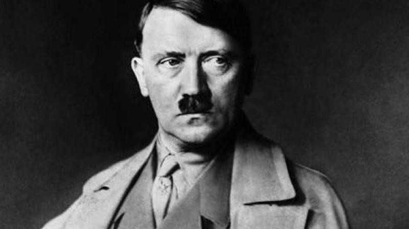 Nazi leader Adolf Hitler (AFP Photo)