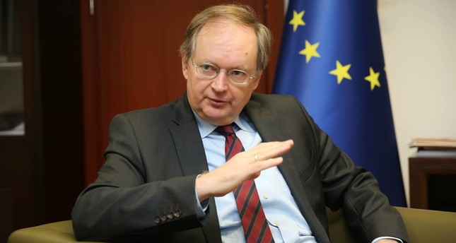"Ambassador Berger said  that Turkey and the EU can ""absolutely find middle ground to move forward in their relations, while adding that the EU understands the problems Turkey is facing, with serious terrorist threats from outside and inside."