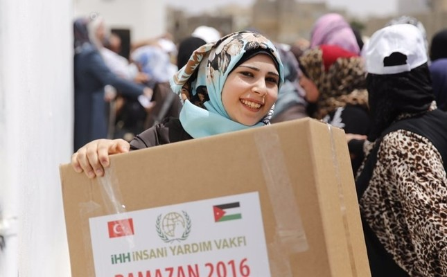 Turkish aid organizations reach out to people in need during Ramadan
