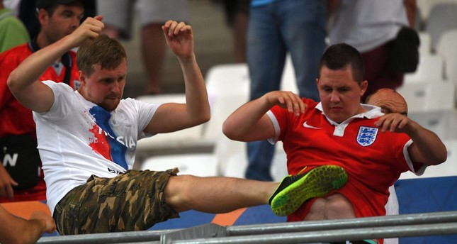 Fighting overshadows football at Euro 2016, UEFA charges Russia