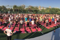 Roll your yoga mats: International Yoga Day brings Indian, Turkish cultures together
