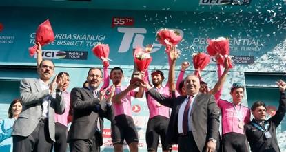 سباق رئاسة الجمهورية التركية للدراجات الهوائية ينتهي بفوز النمساوي فليكس غروسشارتنر