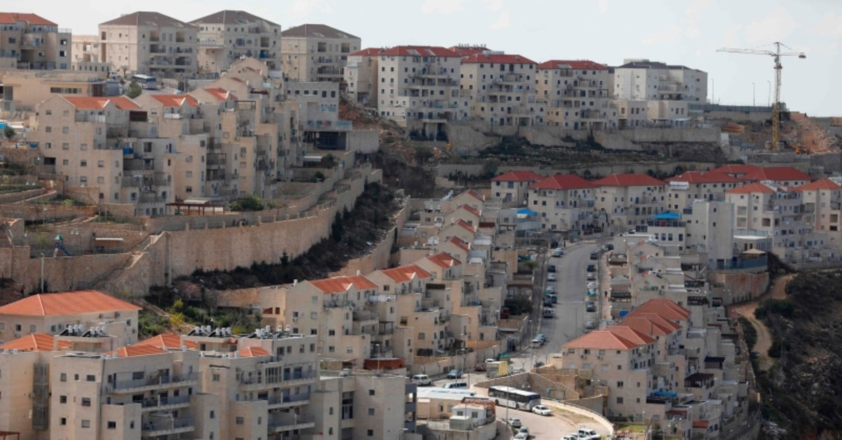 A view of the Israeli settlement of Beitar Illit on Feb. 14, 2018. (AFP Photo)