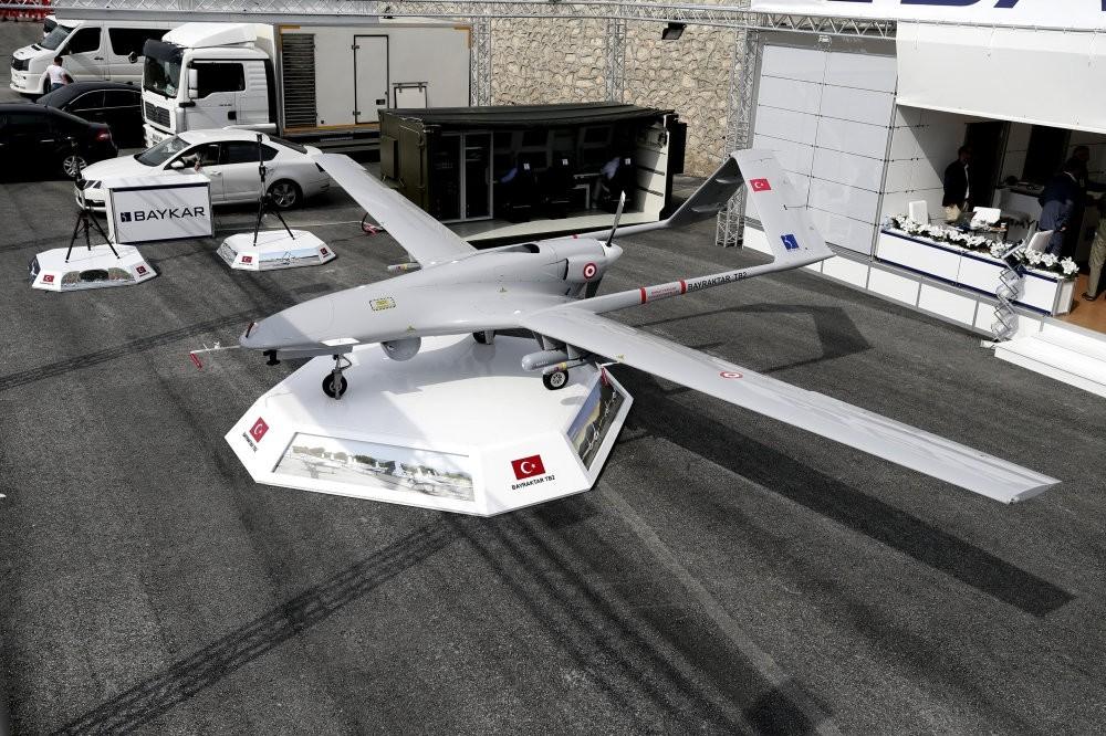 Turkey's domestically produced UAV Bayraktar TB2 was developed by leading unmanned aerial platform developer Baykar Makina.