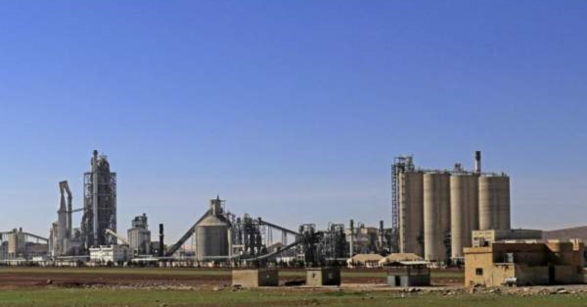 The dubious case of French cement giant Lafarge's plant in northern Syria requires an explanation as it has significant security repercussions for Turkey. (AFP Photo)