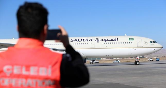 الخطوط الجوية السعودية تدشن أولى رحلاتها المباشرة إلى أنقرة