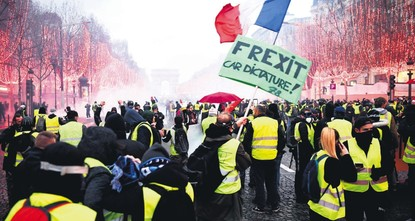 Is French democracy the first victim of a changing world order?
