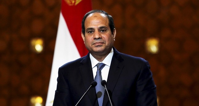 Abdelfettah Al-Sissi, the coup leader of Egypt, who later the became the president (Reuters Photo)
