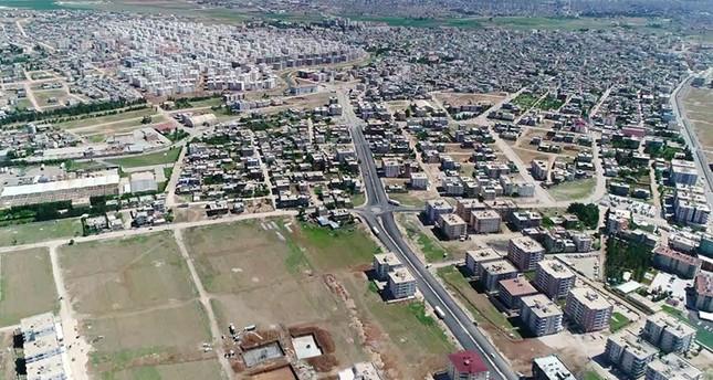 إطلالة جوية على مدينة نصيبين التابعة لولاية ماردين التركية