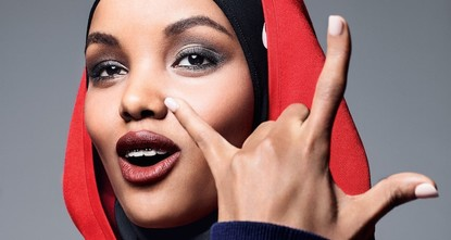 pKenyan-born Somali-American teenager Halima Aden has been chosen as Allure's cover girl for July, marking a first for the magazine and showing a new face of Muslim America./p