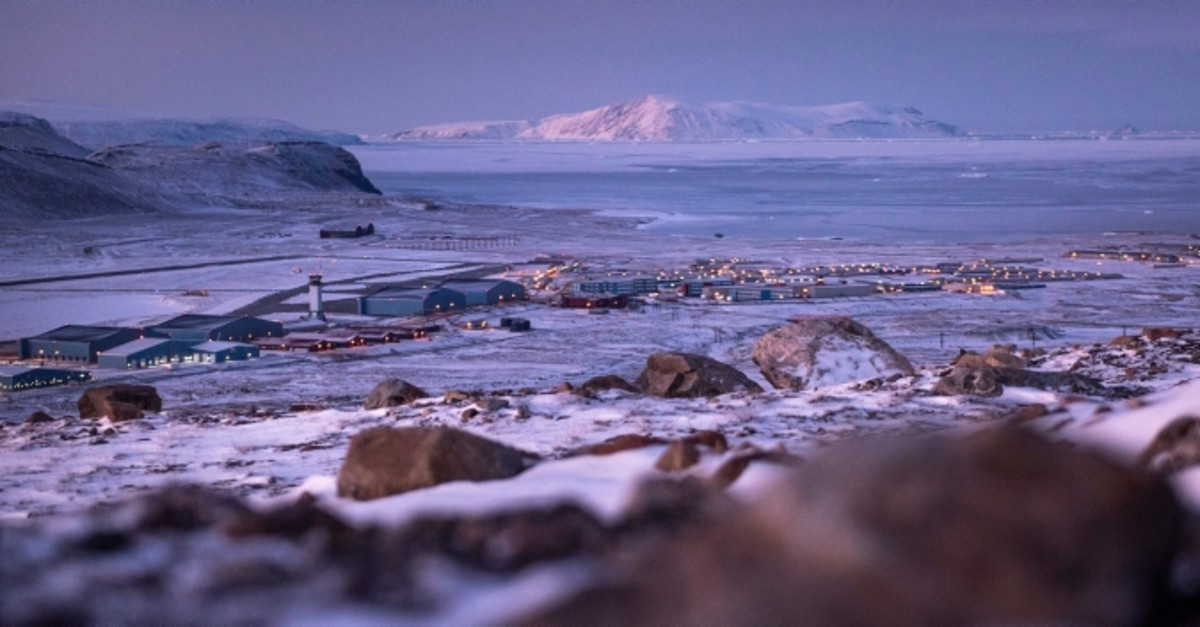 Thule Air Base of the U.S. Air Force in Greenland, Oct. 31, 2018. (EPA Photo)