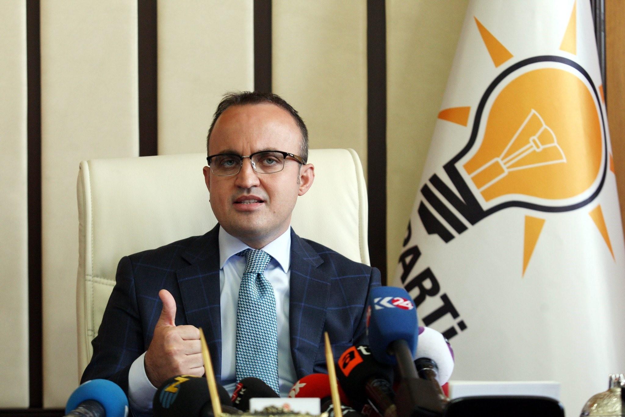 AK Party Group Deputy Chairman Bülent Turan (File Photo)