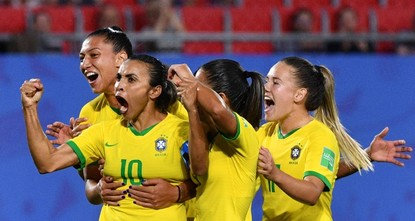Marta becomes top goalscorer in World Cup history