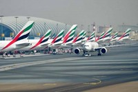 Flights at Dubai Airport briefly halted over drone sighting