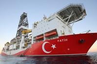 سفينة التنقيب التركية فاتح (الأناضول)