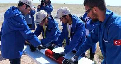Students display skills in Teknofest rocket race