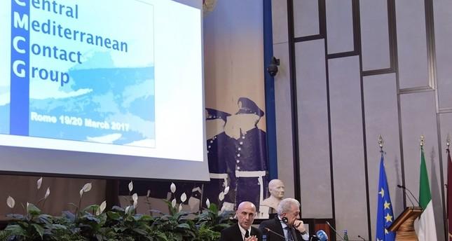 اجتماع في روما بشأن خطة لوقف تدفق المهاجرين من ليبيا
