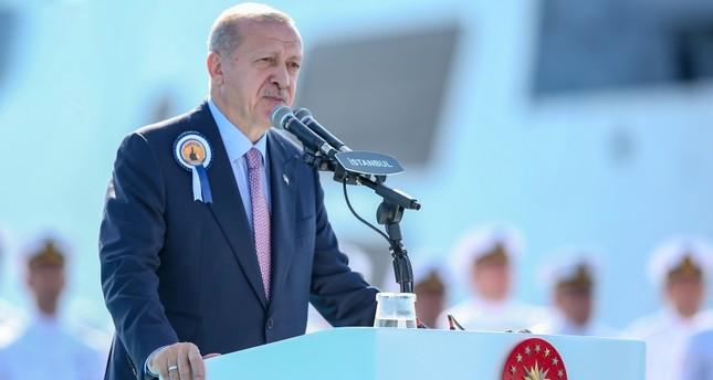 Турции необходимо укреплять военную мощь на морях — Эрдоган