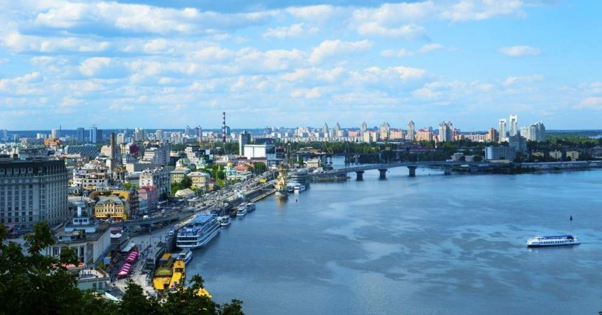 A view of Kiev from an observation point over the Dnieper in Ukraine. (iStock Photo)