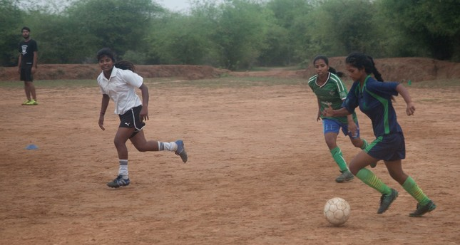 Football a tool against discrimination for rural Indian girls