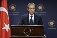 قال المتحدث باسم وزارة الخارجية التركية حامي آقصوي