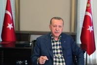 أردوغان معايداً فروع حزب العدالة والتنمية في الولايات الأناضول