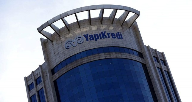 Yapı Kredi Bank headquarters in Istanbul, Turkey, Feb. 3, 2016. Reuters Photo