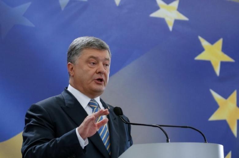 Ukranian President Petro Poroshenko