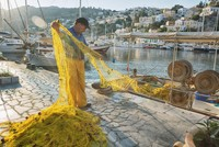 Project collects fishing gear abandoned at sea