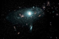 300,000 galaxies revealed by new Universe map