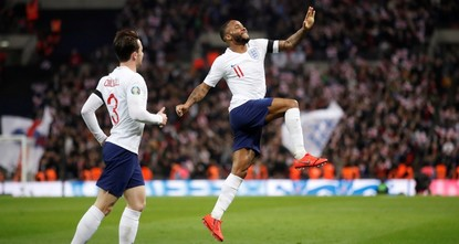 Sterling shines with hat-trick as England humiliates Czechs 5-0