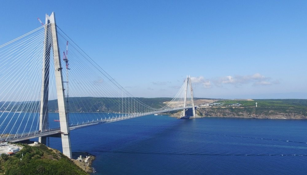 One of Turkey's recent mega projects, the Yavuz Sultan Selim Bridge, completed with an investment of $3 billion, connects Asia to Europe.