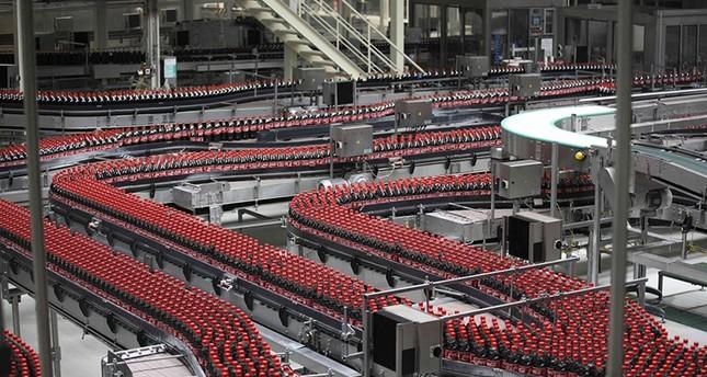 شركة كوكاكولا تفتتح خط إنتاج جديد في تركيا
