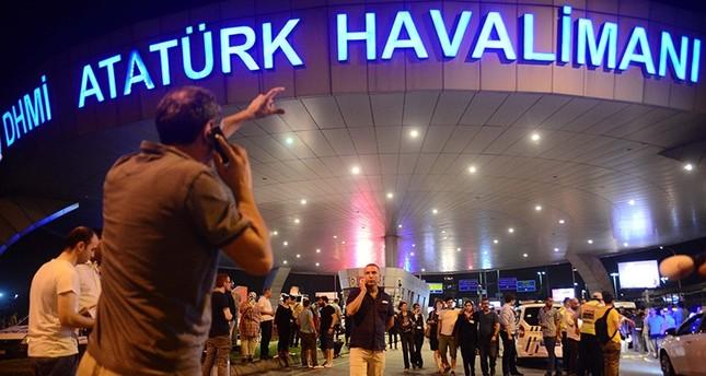 أردوغان: الاعتداء الإرهابي على مطار أتاتورك هدفه تشويه صورة بلادنا