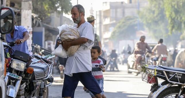 عدد سكان جرابلس تضاعف خمس مرات بعد طرد داعش منها في درع الفرات