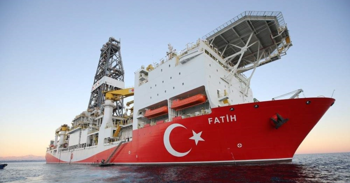 Turkey's first drilling ship Fatih started its activities in the Eastern Mediterranean on Oct. 31, 2018.