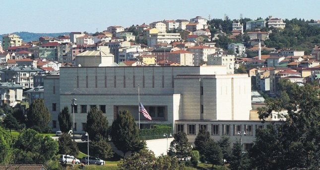 The U.S. Consulate, Istanbul, Oct. 9.