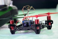 An 11-year-old middle school student in eastern Muş province, Mert Delibalta has developed a drone that can detect the location of buried explosives.