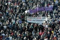 Germans take to streets to protest 'rent insanity'