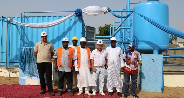 شركة تركية تفتتح مشروعاً لمعالجة المياه في نيجيريا يخدِّم 200 ألف شخص
