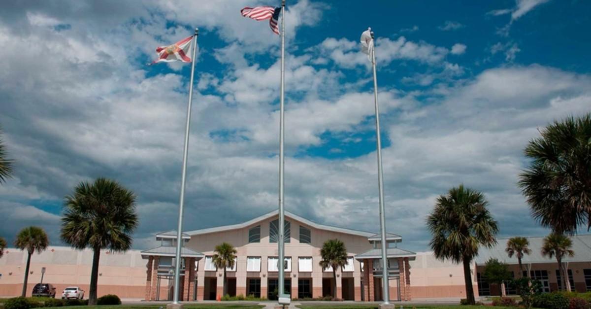 One of the FETu00d6-run Harmony charter schools in Texas. (Sabah Photo)