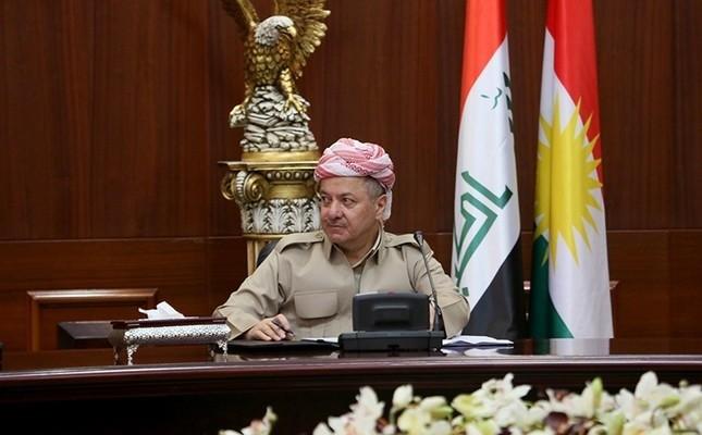 President of KRG, Masoud Barzani