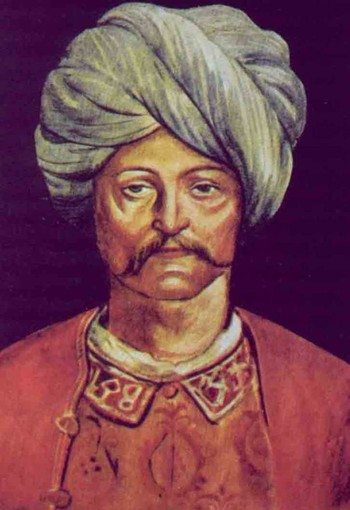 A portrait of Cem Sultan, who took refuge in Europe after rebelling against his brother. Supposedly, Murad, Cem Sultan's son in Rhodes, was baptized by knights and named Pierre and was even declared prince by the pope.