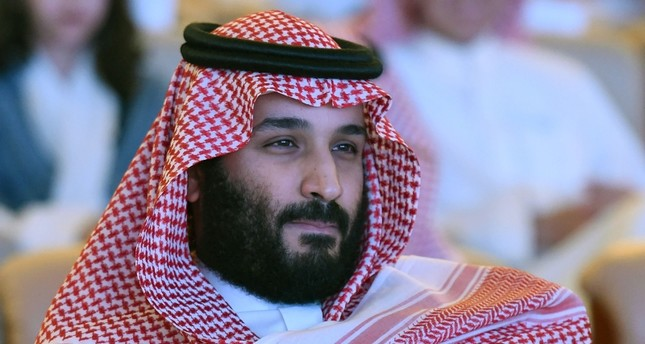 This file photo taken on October 24, 2017 shows Saudi Crown Prince Mohammed bin Salman attending the Future Investment Initiative (FII) conference in Riyadh. (AFP Photo)