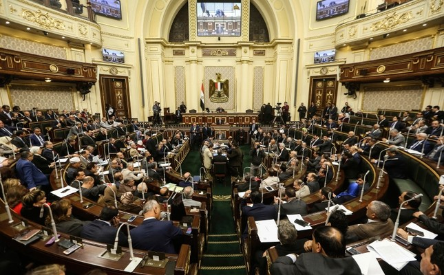 Egypt's Parliament meets to deliberate over constitutional amendments that could allow President Abdel-Fattah el-Sissi to stay in office till 2034, in Cairo Egypt, Wednesday, Feb 13, 2019. AP Photo